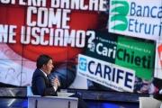 15/12/2015 Roma Renzi a Porta a porta