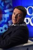 12/05/2016 Roma Matteo Renzi ospite di porta a porta