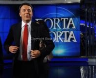 16/06/2015 Roma porta a porta , ospite di Vespa Matteo Renzi
