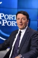 06/09/2016 Roma Matteo Renzi ospite di porta a porta