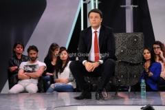 28/05/2015 Roma Renzi ospite di VIRUS di Nicola Porro
