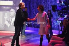09/10/2016 Roma Renzi ospite di Giletti con Agnese Renzi