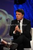 20/12/2015 Roma Renzi opsite da Giletti all'arena