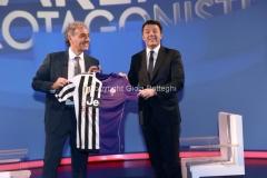 01/05/2016 Roma Matteo renzi ospite da Giletti rai uno