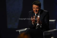 17/05/2015 Roma Matteo Renzi ospite dell'arena di Massimo Giletti a domenica in
