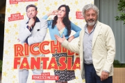 Foto/IPP/Gioia Botteghi 20/09/2018 Roma, Presentazione del film Ricchi di fantasia, nella foto Antonio Catania  Italy Photo Press - World Copyright