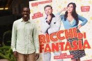 Foto/IPP/Gioia Botteghi 20/09/2018 Roma, Presentazione del film Ricchi di fantasia, nella foto Emanuel Dabone   Italy Photo Press - World Copyright
