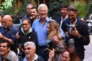Foto/IPP/Gioia Botteghi 18/09/2017 Roma Richard Gere nel cortile monumentale del cinema 4 fontane di Roma, posa per presentare il film L'INCREDINILE VITA DI NORMAN