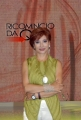 11/09/07 Registrazione delle nuove puntate di RICOMINCIO DA QUI raidue nelle foto la conduttrice Alda Deusanio
