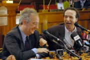 OMEGA/Gioia Botteghi Roma 11/04/07Presentazione in Campidoglio del tour teatrale di Roberto Benigni