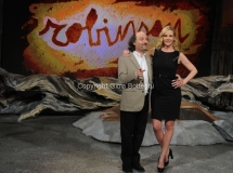9/03/2012 Roma, prima puntata di Robinson rai tre nella foto: Luisella Costamagna e Antonio Cornacchione