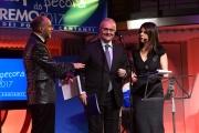 09/02/2017 Roma trasmissione su radiouno Saremo da pecora nella foto Mario Mauro con Geppi Cucciari e Girgio Lauro