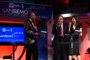 09/02/2017 Roma trasmissione su radiouno Sanremo da pecora nella foto Maurizio Gasparri