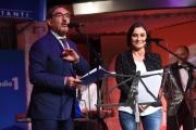 09/02/2017 Roma trasmissione su radiouno Sanremo da pecora nella foto Ignazio La Russa e Alessia Morani