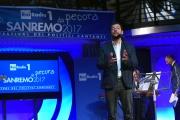 09/02/2017 Roma trasmissione su radiouno Sanremo da pecora nella foto Andrea Romano