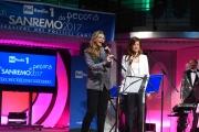 09/02/2017 Roma trasmissione su radiouno Sanremo da pecora nella foto Michela Biancofiore e Gabriella Giammanco le vincitrici