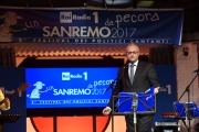 09/02/2017 Roma trasmissione su radiouno Sanremo da pecora nella foto Mario Mauro