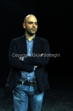 09/09/2013 Roma ospite della trasmissione Presadiretta Roberto Saviano