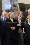 16/12/2011 Roma, Presentazione della targa dedicata a Biagio Agnes nella sede rai di Saxa Rubra, nella foto Rosella Agnes, Lei, Letta,