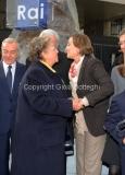 16/12/2011 Roma, Presentazione della targa dedicata a Biagio Agnes nella sede rai di Saxa Rubra, nella foto Rosella Agnes, Lei