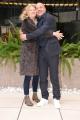 Foto/IPP/Gioia Botteghi Roma 18/03/2019 Presentazione della film,Scappo a casa, nella foto: Aldo Baglio e Angela Finocchiaro Italy Photo Press - World Copyright
