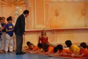 8/05/08 roma prima puntata di _scommettiamo che_ nella foto: Alessandro Cecchi Paone con Matilde Brandi