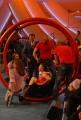 8/05/08 roma prima puntata di _scommettiamo che_ nella foto: irene pivetti e alessandro cecchi paone
