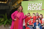"Foto/IPP/Gioia Botteghi Roma26/11/2018  Presentazione del film ""Se son Rose"" nella foto:  MICHELA ANDREOZZI Italy Photo Press - World Copyright"