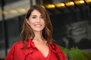 "Foto/IPP/Gioia Botteghi Roma26/11/2018  Presentazione del film ""Se son Rose"" nella foto: CATERINA MURINO Italy Photo Press - World Copyright"