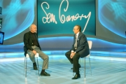 Gioia Botteghi/OMEGA 13/10/06 Trasmissione Domenica in con Pippo Baudo e Sean Connery