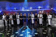 06/01/2014 Roma serata finale Lotteria italia, nella foto Antonella Clerici e tutti i suoi ospiti