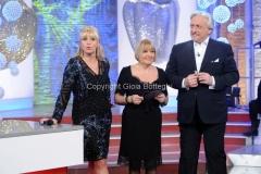 06/01/2014 Roma serata finale Lotteria italia, nella foto Antonella Clerici, Anna Moroni, Davide Scabin