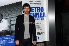 20/03/2015 Roma serata al coni per la presentazione della fiction di raiuno Pietro Mennea, nella foto: Michele Riondino