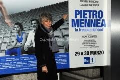 20/03/2015 Roma serata al coni per la presentazione della fiction di raiuno Pietro Mennea, nella foto: Novella Calligaris