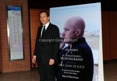 05/05/2013 Roma serata in beneficenza della figlia del carabiniere ferito a palazzo Chigi organizzata dalla rai con la visione dello sceneggiato Montalbano, nella foto Gubitosi