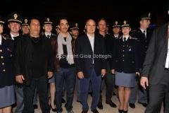 05/05/2013 Roma serata in beneficenza della figlia del carabiniere ferito a palazzo Chigi organizzata dalla rai con la visione dello sceneggiato Montalbano