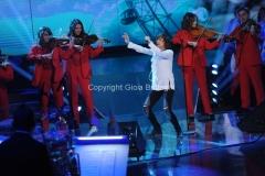 18/12/2015 Roma serata d'apertura per il telethon rai uno, nella foto: Gianna Nannini