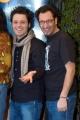 gioia botteghi/OMEGA 18/02/05SHARK TALE i doppiatori del cartone animato conferenza stampa i Pali e Dispari ( Marco Silvestri e Angelo Pisani) daranno la voce a Bernie e Ernie.