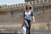 OMEGA/Gioia Botteghi 15/06/07Presentazione a Roma del film SHREK TERZO a Castel Santagelo. nelle foto:  Cameron Diaz,