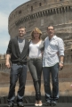 OMEGA/Gioia Botteghi 15/06/07Presentazione a Roma del film SHREK TERZO a Castel Santagelo. nelle foto:  Cameron Diaz, Justine Timberlake, Antonio Banderas,