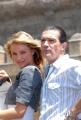 OMEGA/Gioia Botteghi 15/06/07Presentazione a Roma del film SHREK TERZO a Castel Santagelo. nelle foto:  Cameron Diaz, Antonio Banderas,