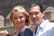 OMEGA/Gioia Botteghi 15/06/07Presentazione a Roma del film SHREK TERZO a Castel Santagelo. nelle foto:  Cameron Diaz,, Antonio Banderas,