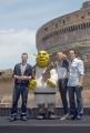 OMEGA/Gioia Botteghi 15/06/07Presentazione a Roma del film SHREK TERZO a Castel Santagelo. nelle foto:  Cameron Diaz, ustine Timberlake, Antonio Banderas,