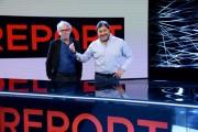 """Foto/IPP/Gioia Botteghi Roma 24/04/2021 Trasmissione """" report"""" rai3, nella foto il conduttore Sigfrido Ranucci con il regista Claudio Del Signore"""