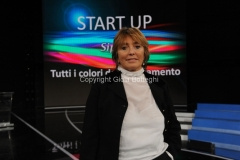 19/02/2013 Roma presentazione della nuova SIPRA RAI, nella foto: Lorenza Lei amministratore delegato sipra