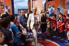 31/05/2016 Roma puntata speciale SOGNO AZZURRO, nella foto Clerici con i bambini delle scuole calcio