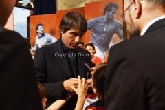31/05/2016 Roma puntata speciale SOGNO AZZURRO, nella foto Conte con i bambini delle scuole calcio