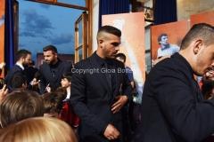 31/05/2016 Roma puntata speciale SOGNO AZZURRO, nella foto Pellè con i bambini delle scuole calcio