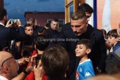31/05/2016 Roma puntata speciale SOGNO AZZURRO, nella foto: Immobile con i bambini delle scuole calcio