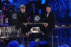 11/01/2014 Roma nuovo programma di rai uno Sogno e son desto, con Massimo Ranieri Francesco De Gregori